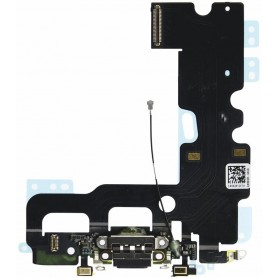 Flat flex charging / audio connector, antenna and microphone for iPhone 7 A1660, A1778, A1779.