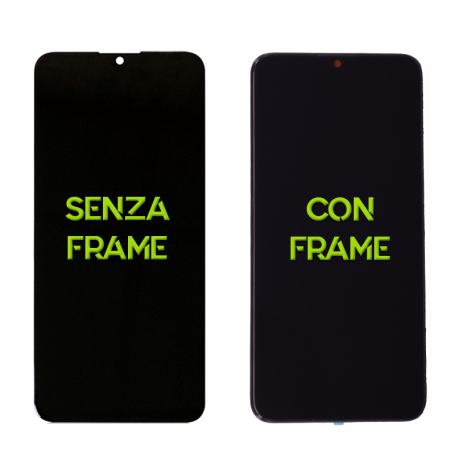 DISPLAY TOUCHSCREEN COMPLETO PER HUAWEI P SMART 2019