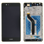 LCD DISPLAY TOUCH SCREEN COMPLETE FOR HUAWEI P9 LITE WITH FRAME BLACK