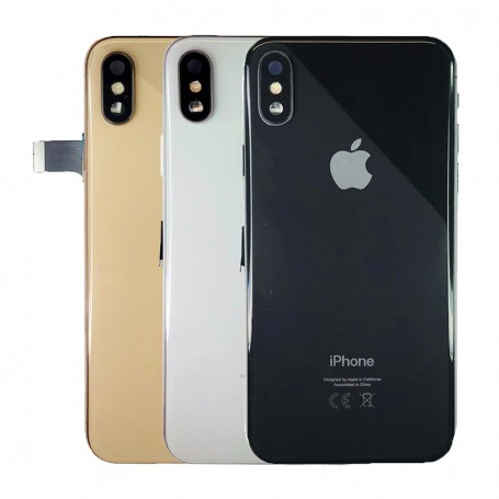 COMPLETE ORIGINAL BACK COVER FOR APPLE IPHONE XS