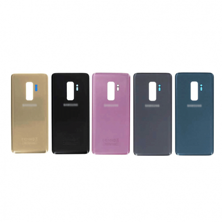 BACK COVER GLASS WITH BIADHESIVE FOR SAMSUNG S9 PLUS