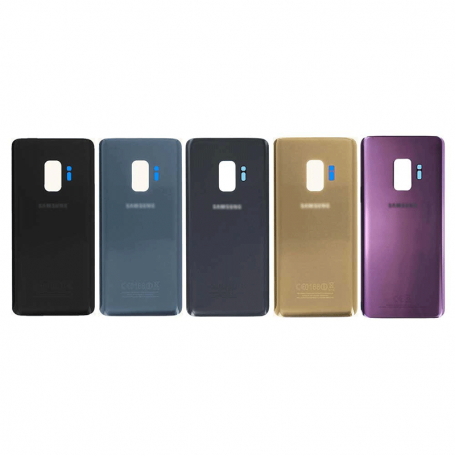 BACK COVER GLASS WITH BIADHESIVE FOR SAMSUNG S9