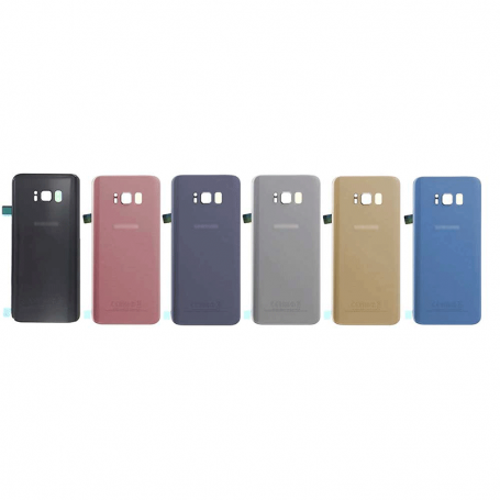BACK COVER GLASS WITH BIADHESIVE FOR SAMSUNG S8 PLUS