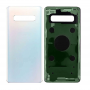 BACK COVER GLASS WITH BIADHESIVE FOR SAMSUNG S10 PLUS WHITE