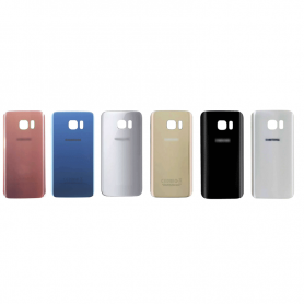 Back cover glass with biadhesive for Samsung S7