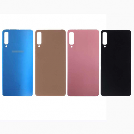 Back cover glass with biadhesive for Samsung A7 2018 A750