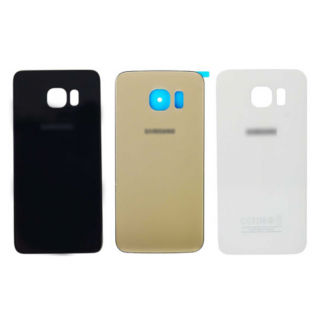 Back cover glass with biadhesive for Samsung S6 G920