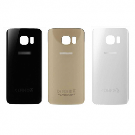 Back cover glass with biadhesive for Samsung S6 Edge G925