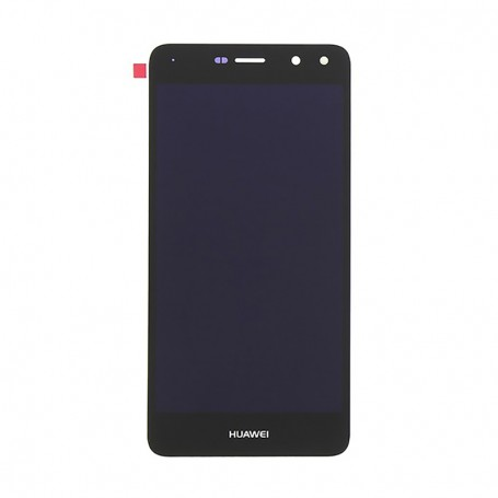 Lcd originale schermo display + touch screen completo Huawei Y6 2017 Nero
