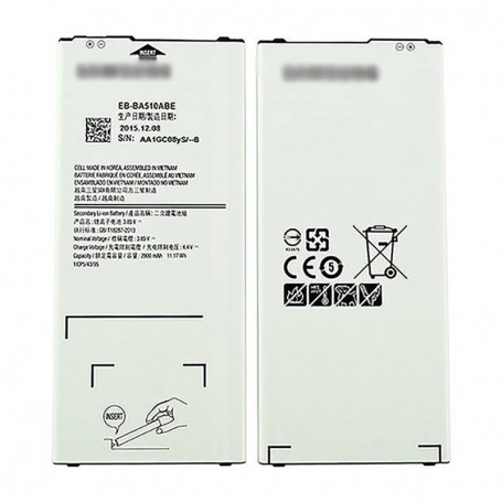 Replacement battery EB-BA510ABE for Samsung Galaxy A5 2016 A510