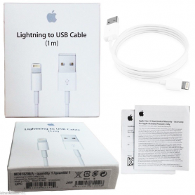 Original Apple 1 Meter MD818ZM / A cable with Lightning connector