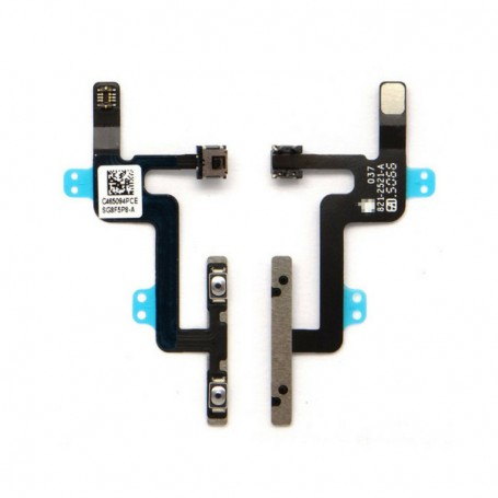 Flat volume power and vibration for iPhone 6 A1549, A1586, A1589