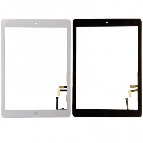 Touch screen glass with home key for Apple iPad Air and iPad 5 2017