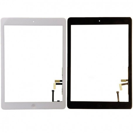 Touch screen glass with home key for Apple iPad Air A1474, A1475, A1476