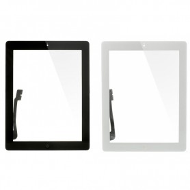 Touch screen glass with home key for Apple iPad 3 A1416, A1430, A1403
