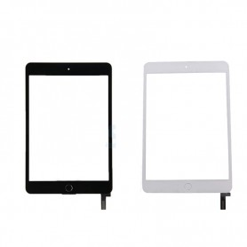 Touch screen glass with home key for Apple iPad Mini 4 A1538, A1550