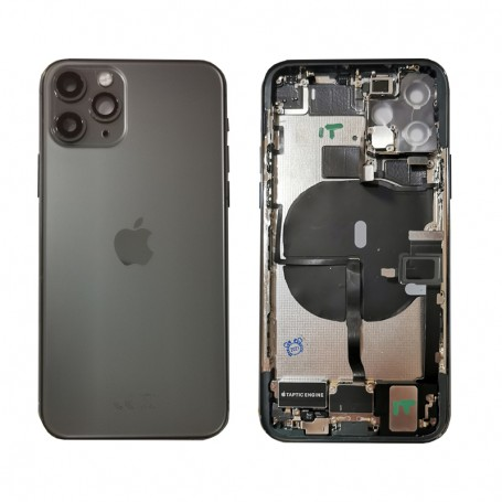 Complete original back cover for Apple iPhone 11 Pro A2160 A2215 A2217 black