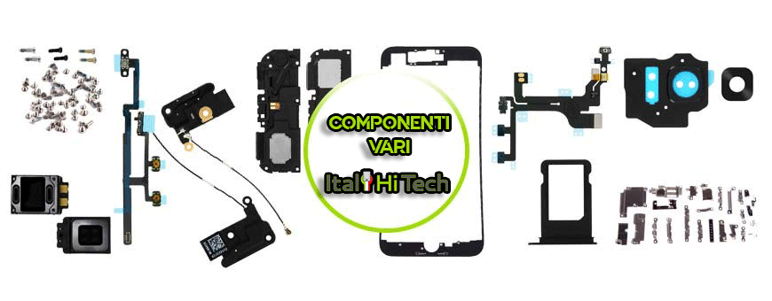 Various spare parts for Smartphones and Tablets